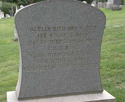 CASTLE, ROSELLY - Lake County, Ohio | ROSELLY CASTLE - Ohio Gravestone Photos