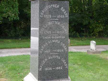 CRARY, CHRISTOPHER - Lake County, Ohio | CHRISTOPHER CRARY - Ohio Gravestone Photos