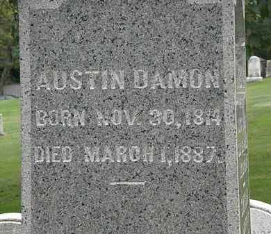 DAMON, AUSTIN - Lake County, Ohio | AUSTIN DAMON - Ohio Gravestone Photos
