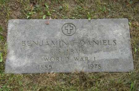 DANIELS, BENJAMIN F. - Lake County, Ohio   BENJAMIN F. DANIELS - Ohio Gravestone Photos