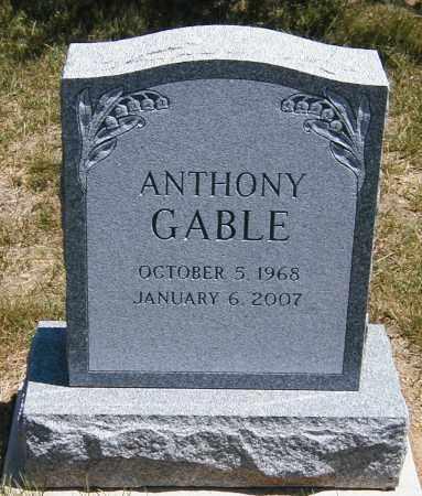 GABLE, ANTHONY - Lake County, Ohio   ANTHONY GABLE - Ohio Gravestone Photos