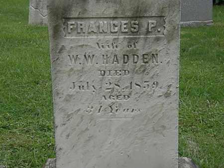 HADDEN, W.W. - Lake County, Ohio | W.W. HADDEN - Ohio Gravestone Photos