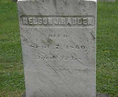 HADDEN, NELSON J. - Lake County, Ohio | NELSON J. HADDEN - Ohio Gravestone Photos