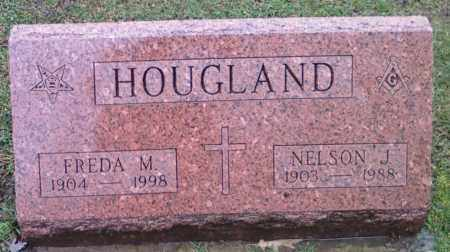 HICKMAN HOUGLAND, FREDA - Lake County, Ohio | FREDA HICKMAN HOUGLAND - Ohio Gravestone Photos