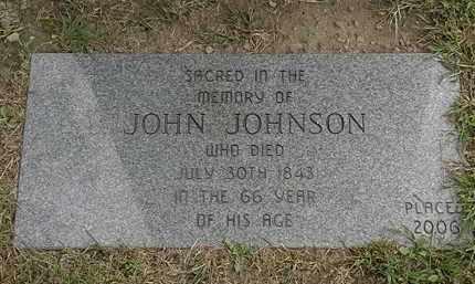 JOHNSON, JOHN - Lake County, Ohio | JOHN JOHNSON - Ohio Gravestone Photos