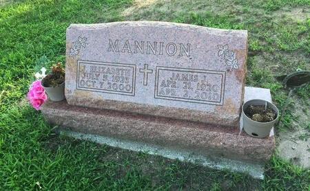 MANNION, JAMES J. - Lake County, Ohio | JAMES J. MANNION - Ohio Gravestone Photos