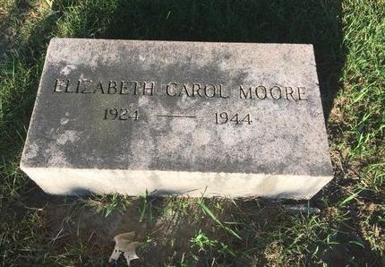 MOORE, ELIZABETH CAROL - Lake County, Ohio   ELIZABETH CAROL MOORE - Ohio Gravestone Photos