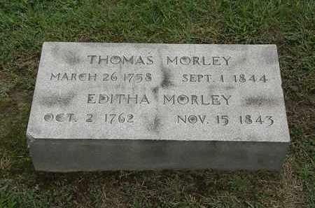 MORLEY, THOMAS - Lake County, Ohio | THOMAS MORLEY - Ohio Gravestone Photos