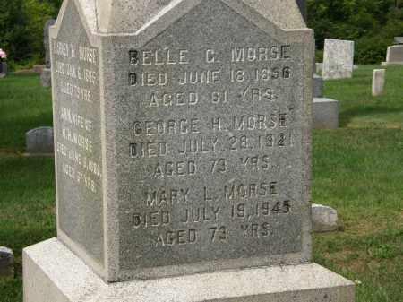 MORSE, GEORGE H. - Lake County, Ohio | GEORGE H. MORSE - Ohio Gravestone Photos