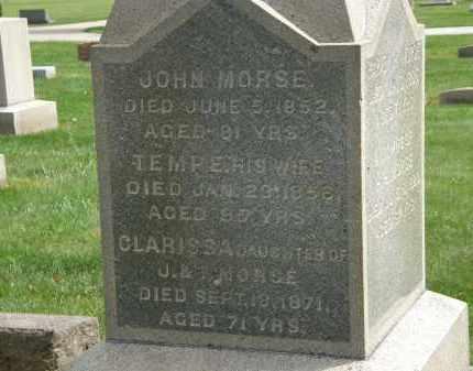 MORSE, TEMPE - Lake County, Ohio | TEMPE MORSE - Ohio Gravestone Photos