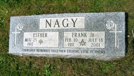 ORIS NAGY, ESTHER - Lake County, Ohio | ESTHER ORIS NAGY - Ohio Gravestone Photos
