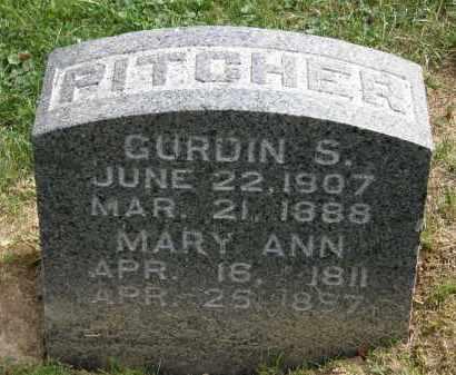 PITCHER, MARY ANN - Lake County, Ohio | MARY ANN PITCHER - Ohio Gravestone Photos