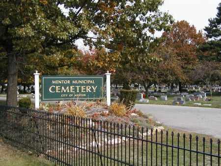 SIGN, CEMETERY - Lake County, Ohio | CEMETERY SIGN - Ohio Gravestone Photos