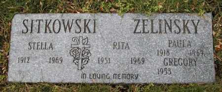 ZELINSKY, RITA - Lake County, Ohio | RITA ZELINSKY - Ohio Gravestone Photos