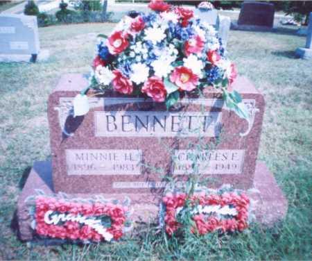 BENNETT, MINNIE H. - Lawrence County, Ohio | MINNIE H. BENNETT - Ohio Gravestone Photos