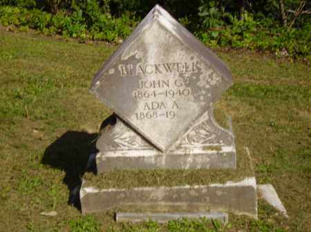 BLACKWELL, ADA - Lawrence County, Ohio   ADA BLACKWELL - Ohio Gravestone Photos