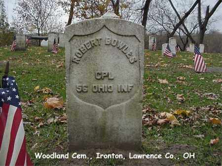 BOWLES, ROBERT - Lawrence County, Ohio | ROBERT BOWLES - Ohio Gravestone Photos