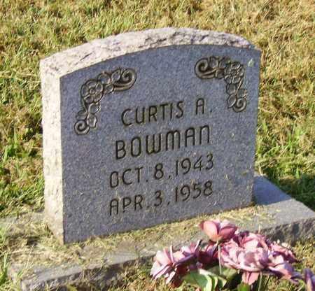 BOWMAN, CURTIS - Lawrence County, Ohio | CURTIS BOWMAN - Ohio Gravestone Photos