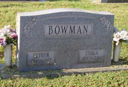 BOWMAN, ENOLA - Lawrence County, Ohio   ENOLA BOWMAN - Ohio Gravestone Photos