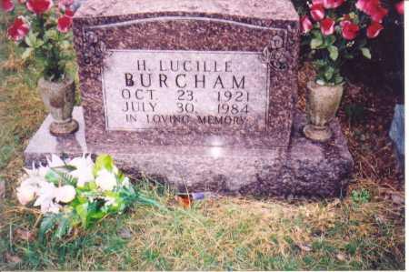 BURCHAM, H. LUCILLE - Lawrence County, Ohio | H. LUCILLE BURCHAM - Ohio Gravestone Photos