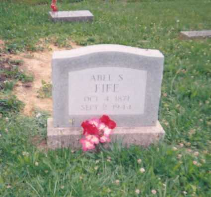 FIFE, ABEL S. - Lawrence County, Ohio | ABEL S. FIFE - Ohio Gravestone Photos