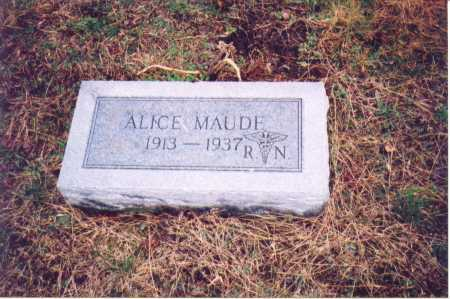 HAIRSTON, ALICE MAUDE - Lawrence County, Ohio | ALICE MAUDE HAIRSTON - Ohio Gravestone Photos