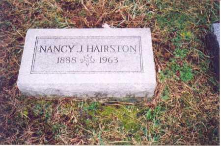 HAIRSTON, NANCY J. - Lawrence County, Ohio | NANCY J. HAIRSTON - Ohio Gravestone Photos