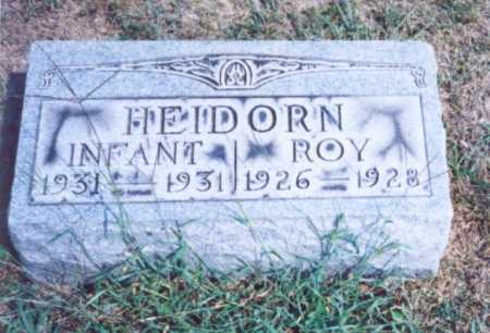 HEIDORN, INFANT - Lawrence County, Ohio | INFANT HEIDORN - Ohio Gravestone Photos