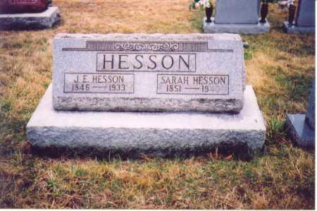 HESSON, SARAH - Lawrence County, Ohio | SARAH HESSON - Ohio Gravestone Photos