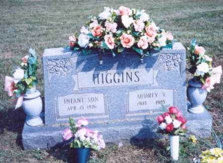 HIGGINS, INFANT SON - Lawrence County, Ohio | INFANT SON HIGGINS - Ohio Gravestone Photos