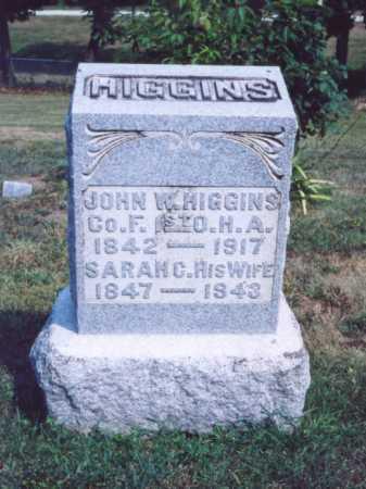 HIGGINS, SARAH C. - Lawrence County, Ohio | SARAH C. HIGGINS - Ohio Gravestone Photos