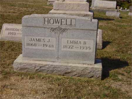 HOWELL, EMMA - Lawrence County, Ohio | EMMA HOWELL - Ohio Gravestone Photos