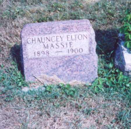 MASSIE, CHAUNCEY ELTON - Lawrence County, Ohio | CHAUNCEY ELTON MASSIE - Ohio Gravestone Photos