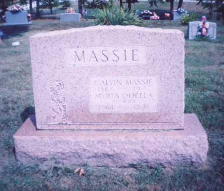 MASSIE, CALVIN - Lawrence County, Ohio | CALVIN MASSIE - Ohio Gravestone Photos