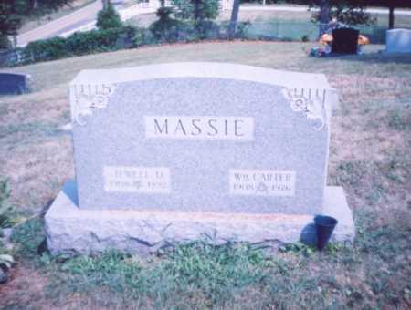 MASSIE, WM. CARTER - Lawrence County, Ohio   WM. CARTER MASSIE - Ohio Gravestone Photos