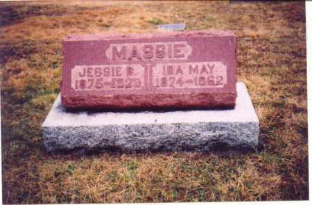 MASSIE, IDA MAY - Lawrence County, Ohio | IDA MAY MASSIE - Ohio Gravestone Photos