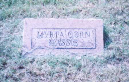 MASSIE, MYRTA - Lawrence County, Ohio | MYRTA MASSIE - Ohio Gravestone Photos