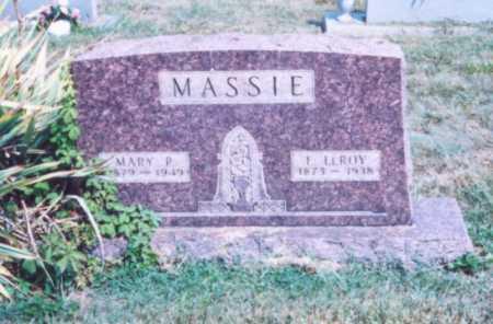 MASSIE, E. LEROY - Lawrence County, Ohio   E. LEROY MASSIE - Ohio Gravestone Photos