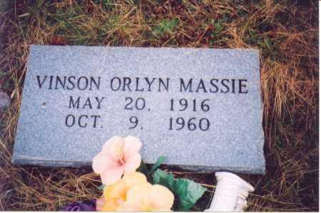 MASSIE, VINSON ORLYN - Lawrence County, Ohio | VINSON ORLYN MASSIE - Ohio Gravestone Photos