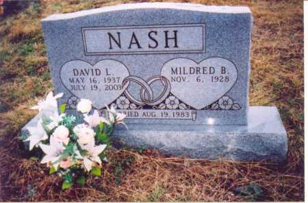 NASH, DAVID L. - Lawrence County, Ohio | DAVID L. NASH - Ohio Gravestone Photos