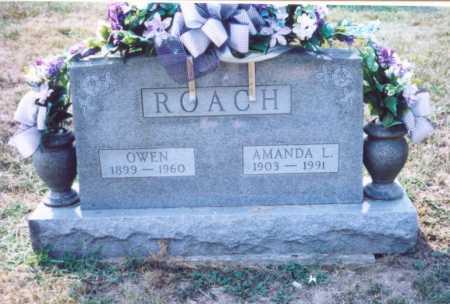 ROACH, OWEN - Lawrence County, Ohio | OWEN ROACH - Ohio Gravestone Photos