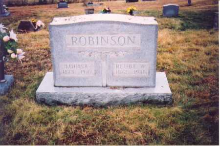 ROBINSON, REUBE W. - Lawrence County, Ohio | REUBE W. ROBINSON - Ohio Gravestone Photos