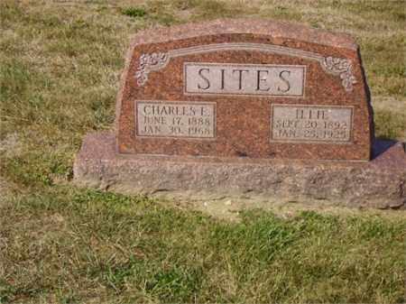 BLAIR SITES, ILA (ILLIE) - Lawrence County, Ohio | ILA (ILLIE) BLAIR SITES - Ohio Gravestone Photos