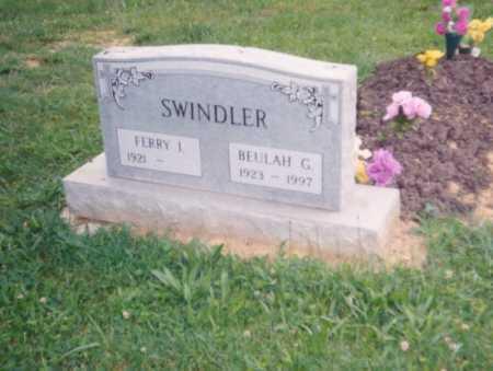 FIFE SWINDLER, BUELAH G. - Lawrence County, Ohio | BUELAH G. FIFE SWINDLER - Ohio Gravestone Photos