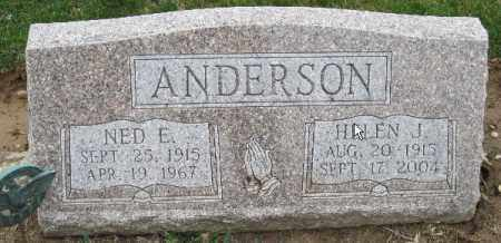 HOOVER ANDERSON, HELEN J - Licking County, Ohio | HELEN J HOOVER ANDERSON - Ohio Gravestone Photos
