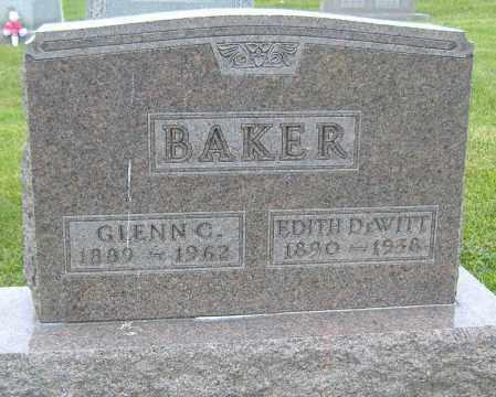 BAKER, EDITH HARRIET - Licking County, Ohio | EDITH HARRIET BAKER - Ohio Gravestone Photos