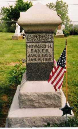 BAKER, HOWARD HENRY - Licking County, Ohio | HOWARD HENRY BAKER - Ohio Gravestone Photos