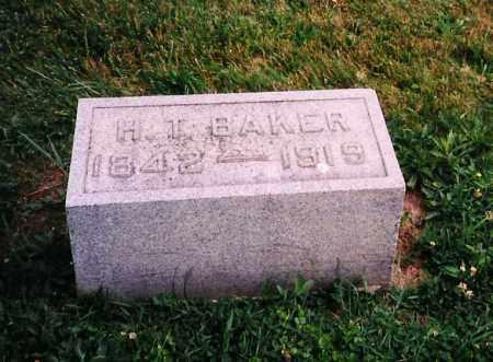 BAKER, HAMILTON THEODORE - Licking County, Ohio   HAMILTON THEODORE BAKER - Ohio Gravestone Photos