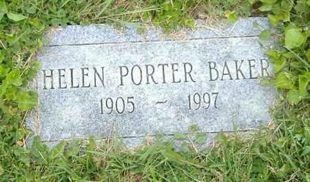 PORTER BAKER, HELEN - Licking County, Ohio | HELEN PORTER BAKER - Ohio Gravestone Photos