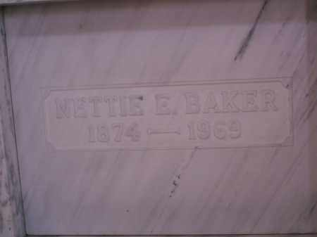 FOSTER BAKER, NETTIE E. - Licking County, Ohio | NETTIE E. FOSTER BAKER - Ohio Gravestone Photos